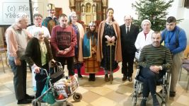 Die Sternsinger im Therapiezentrums